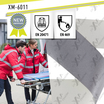 FR reflective tape XM-6011 has received an updated certificates EN 469 and EN 20471